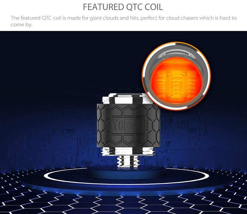 Yocan Rex QTC Coil Features