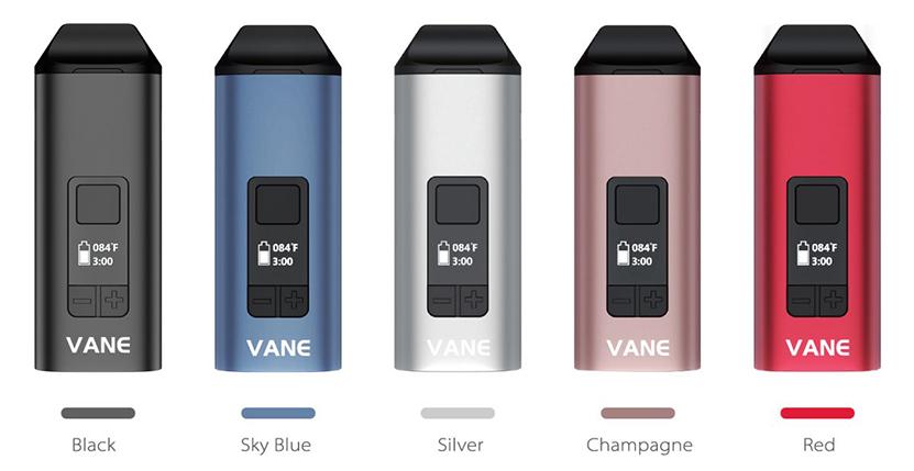 Yocan Vane Vaporizer Colors