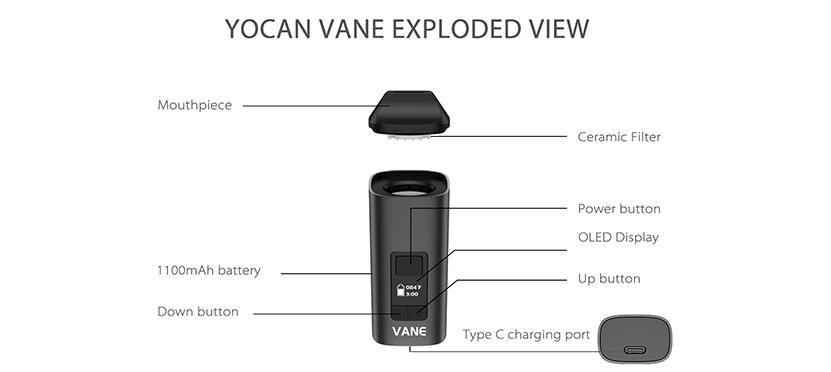 Yocan Vane Vaporizer Feature 6