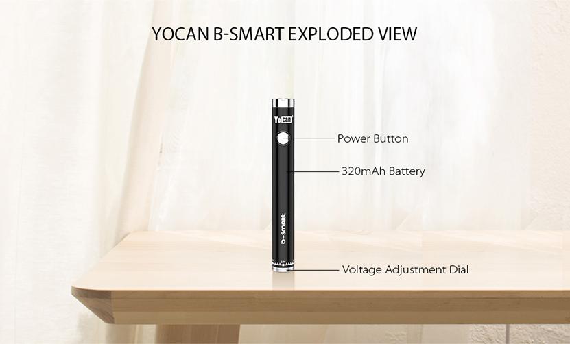 Yocan B-smart Vape Battery View