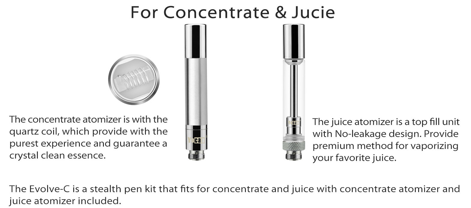 Yocan Evolve-C Kit Features 01