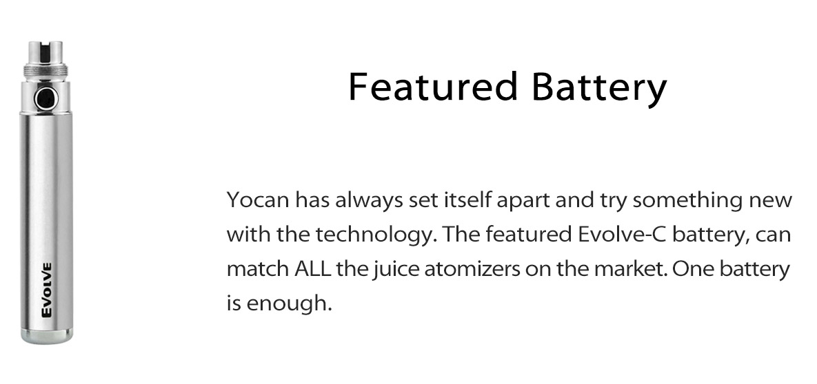 Yocan Evolve-C Kit Features 02