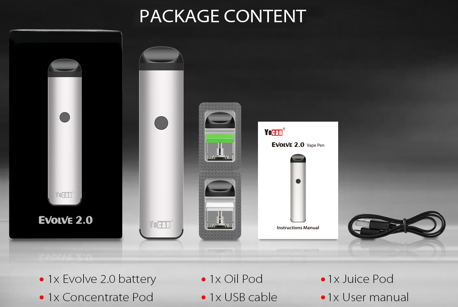 Yocan Evolve 2.0 Kit Features 08