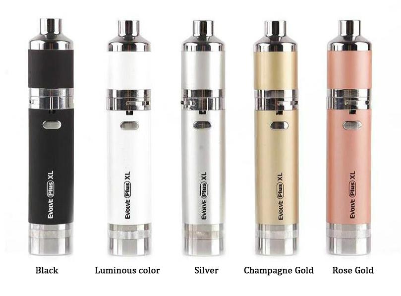 Yocan Evolve Plus XL Kit Colors