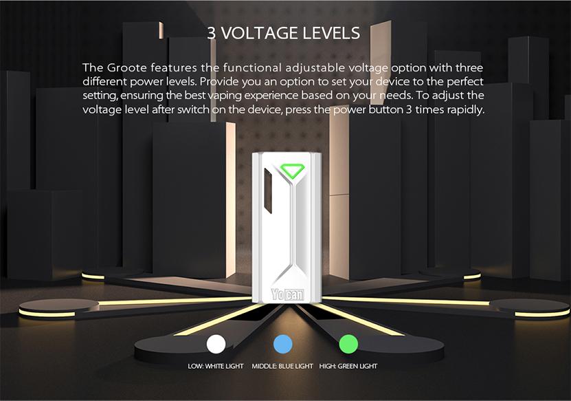 Yocan Groote Mod Voltage