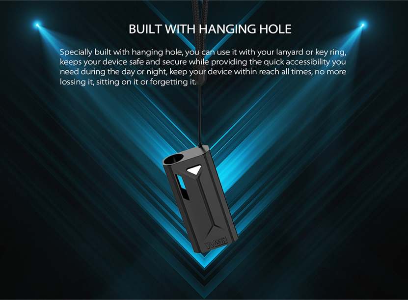Yocan Groote Vape Mod Hole