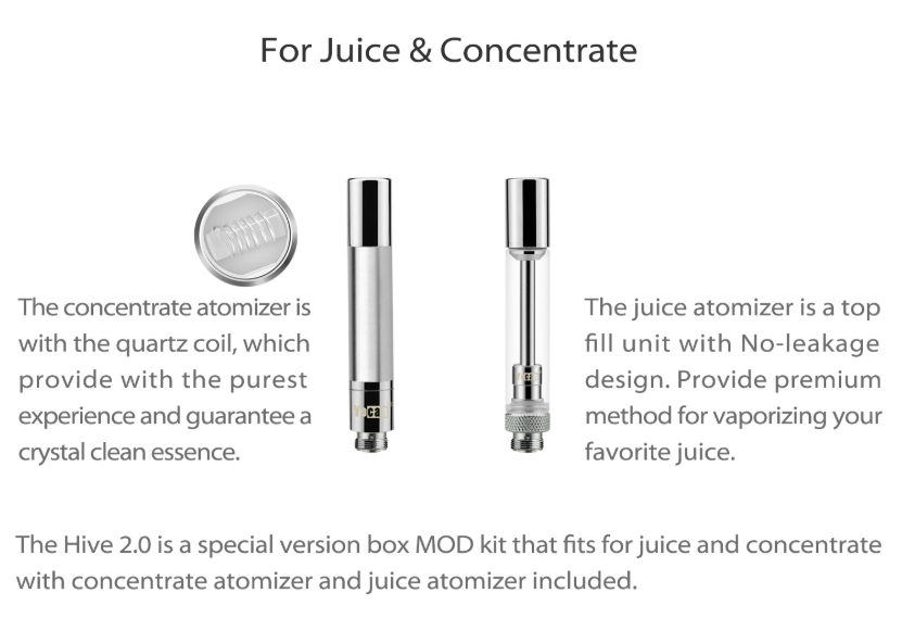 Yocan Hive 2.0 Kit Concentrate