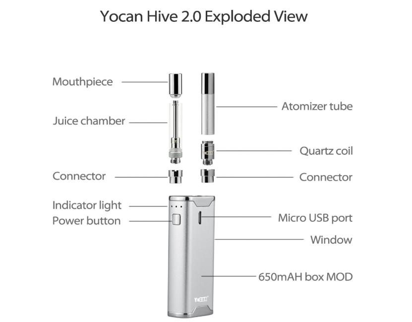 Yocan Hive 2.0 Vape Kit Component