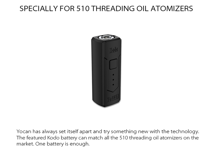 Kodo Box Mod 510 Threading