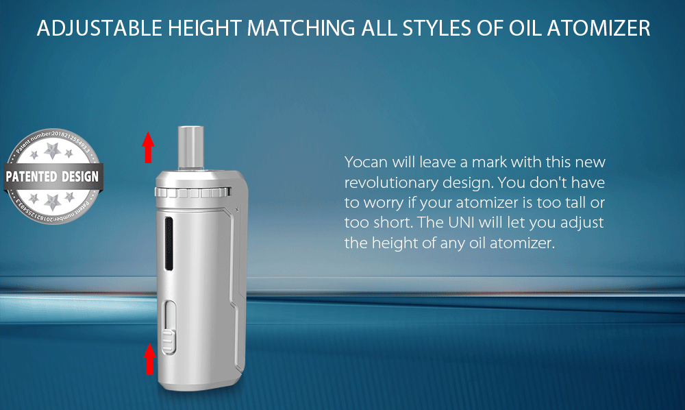 Yocan UNI Mod Adjustable Height