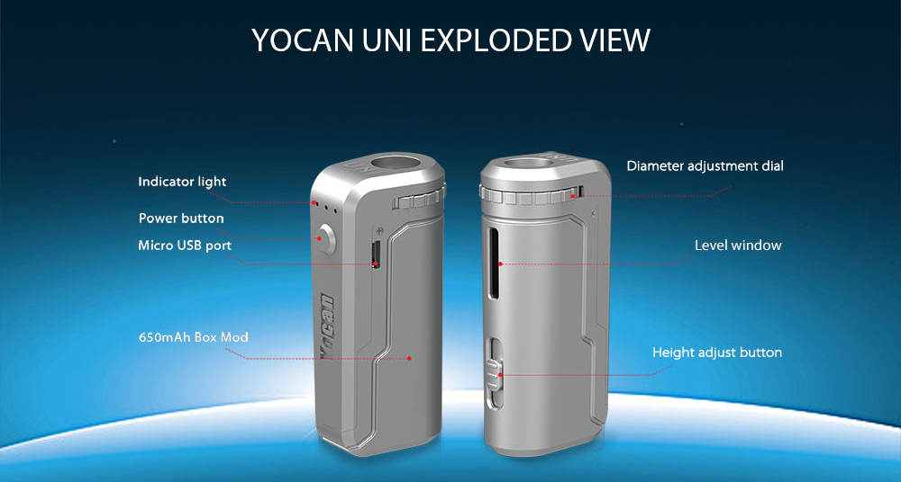 Yocan UNI Mod Overview