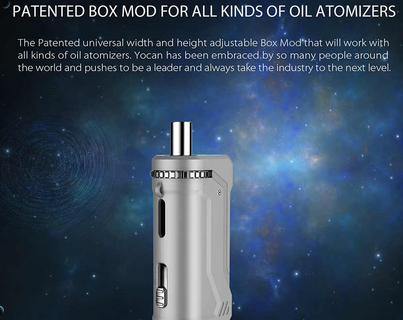 UNI Pro Box Mod Fit For Oil Atomizers