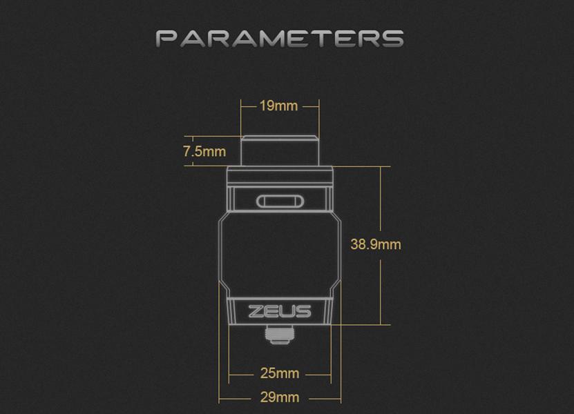 Zeus Dual RTA Parameters