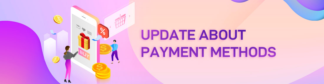 Update About Payment Methods