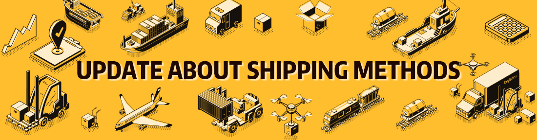 Update Aboout Shipping Methods
