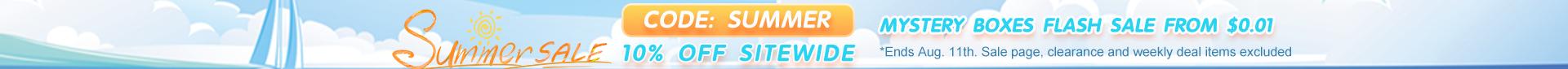2021 Summer box sale 10off TopBanner