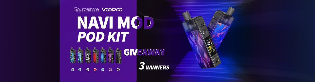 Sourcemore & VOOPOO Navi Mod Pod Kit Giveaway