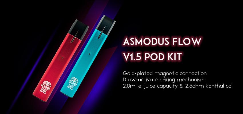 asMODus Flow v1.5 Pod Kit Banner