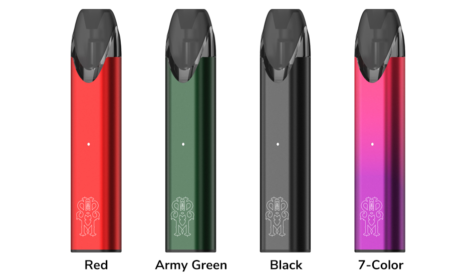 asMODus Pyke Pod System Colors