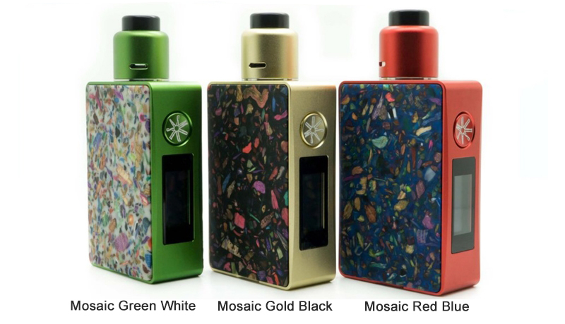 asMODus Spruzza 80W Squonk Kit 3 colors