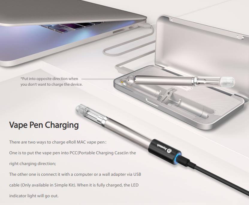 eRoll MAC PCC charging