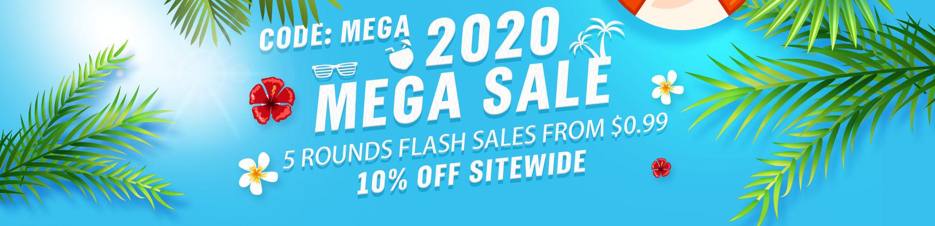 2020 Mega Sale Banner