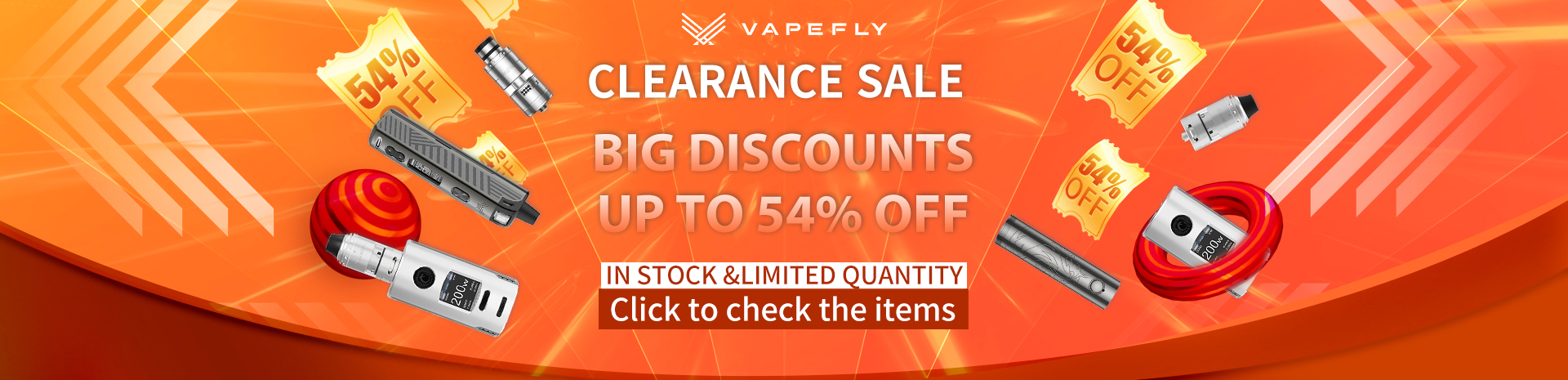 2021 Vapefly Clearance Sale Banner