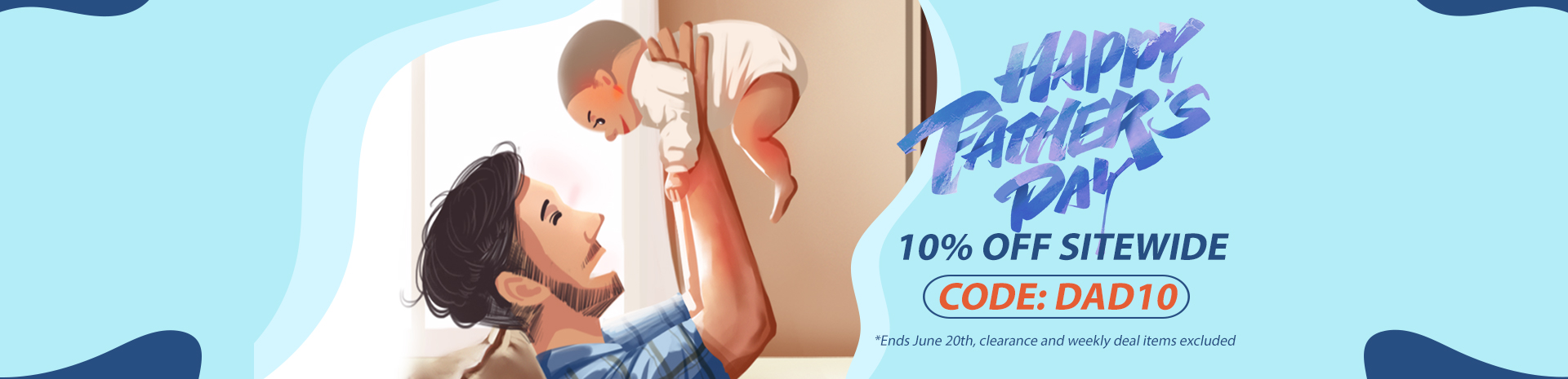 2021 father day sale 10off Banner