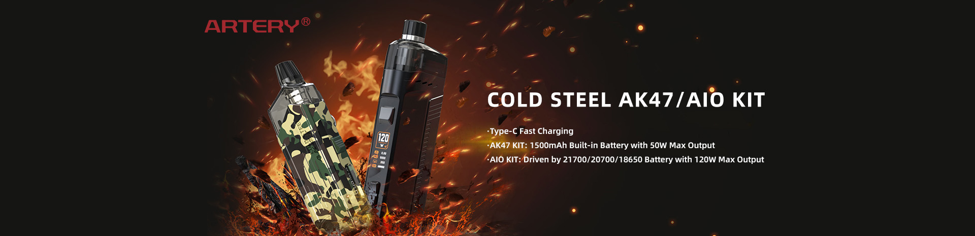 Artery Cold Steel Kit Banner