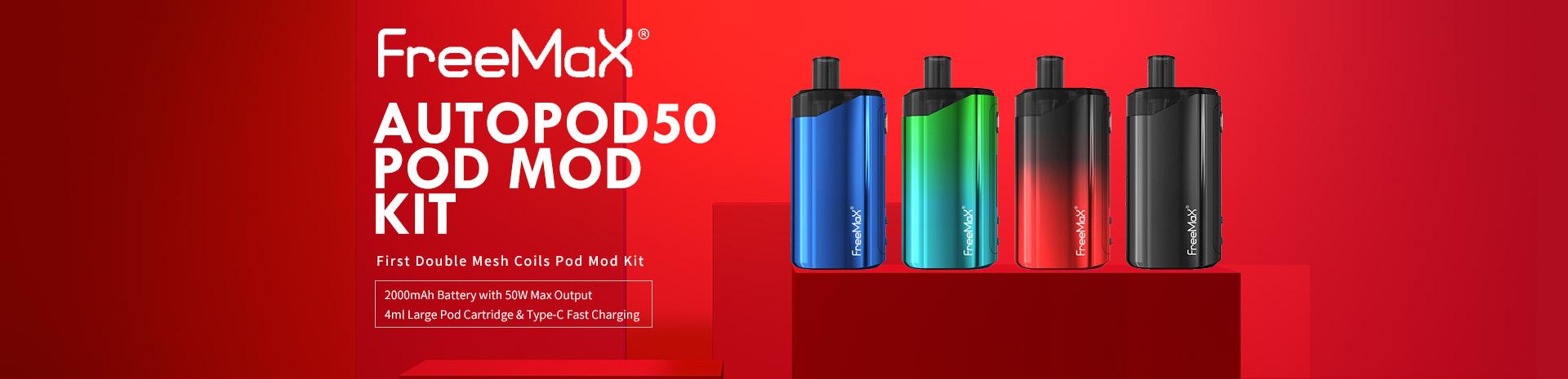 Freemax Autopod50 Pod Mod Kit Banner