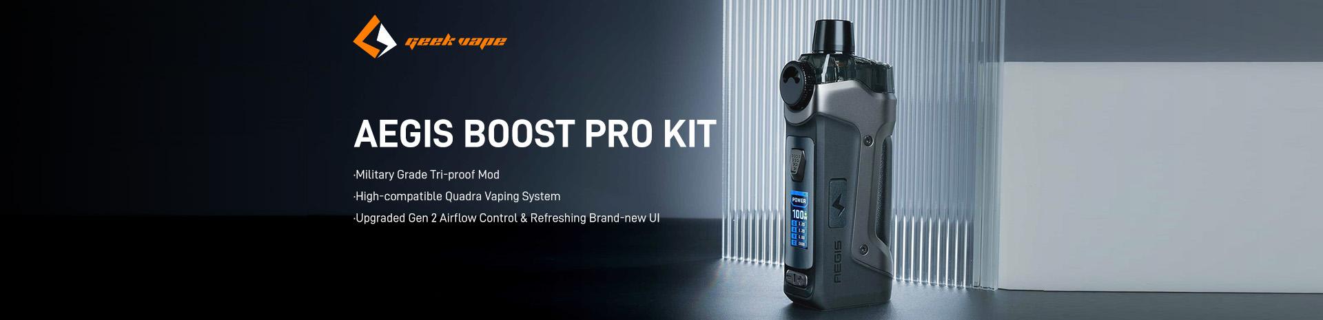 GeekVape Aegis Boost Pro Kit Banner