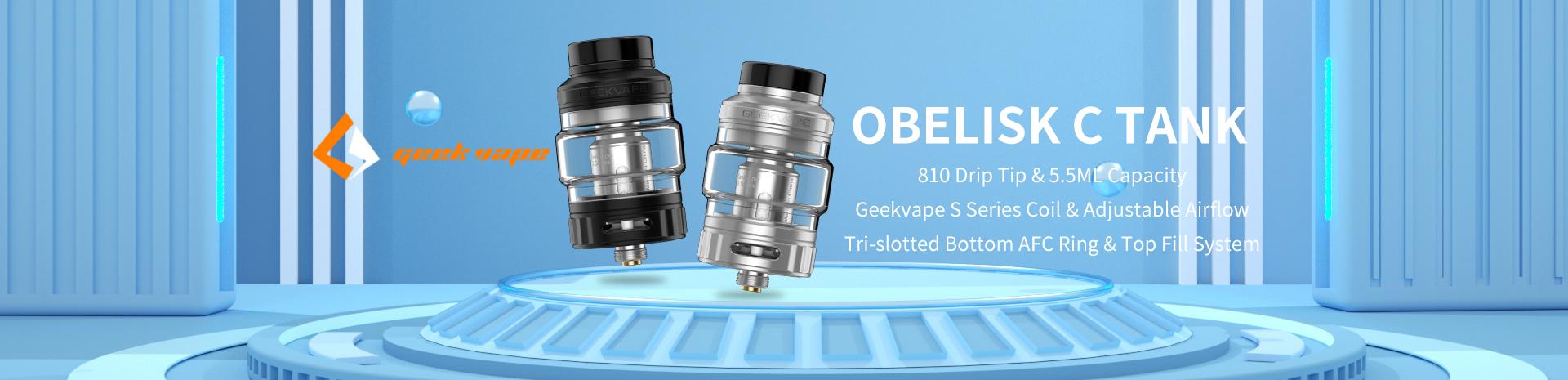 GeekVape Obelisk C Cerberus Tank Banner