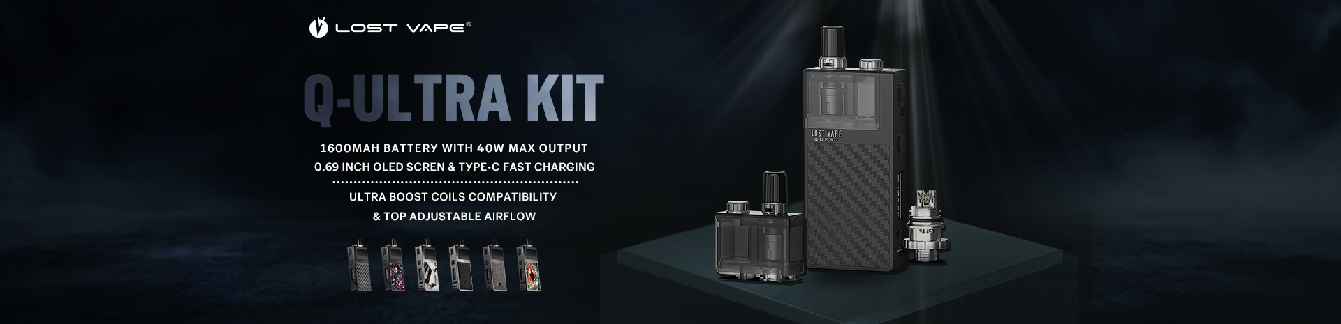 Lost Vape Q Ultra Kit Banner