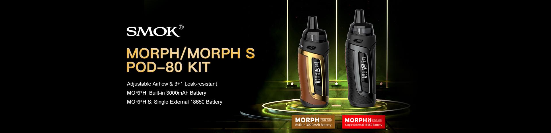 SMOK Morph or Morph S Pod-80 Kit Banner