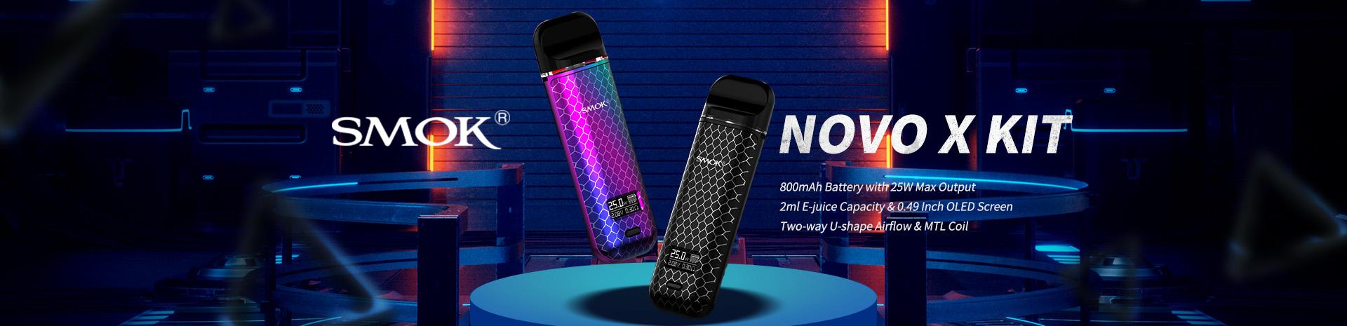 SMOK NOVO X Kit Banner