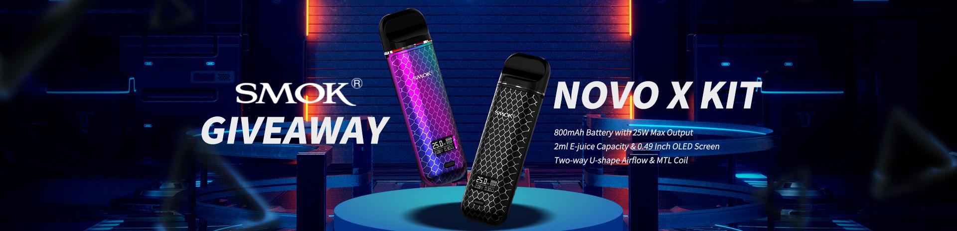 SMOK Novo X Kit Giveaway