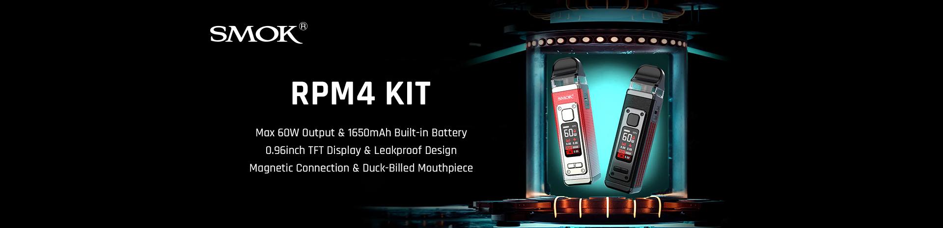 SMOK RPM 4 Kit Banner