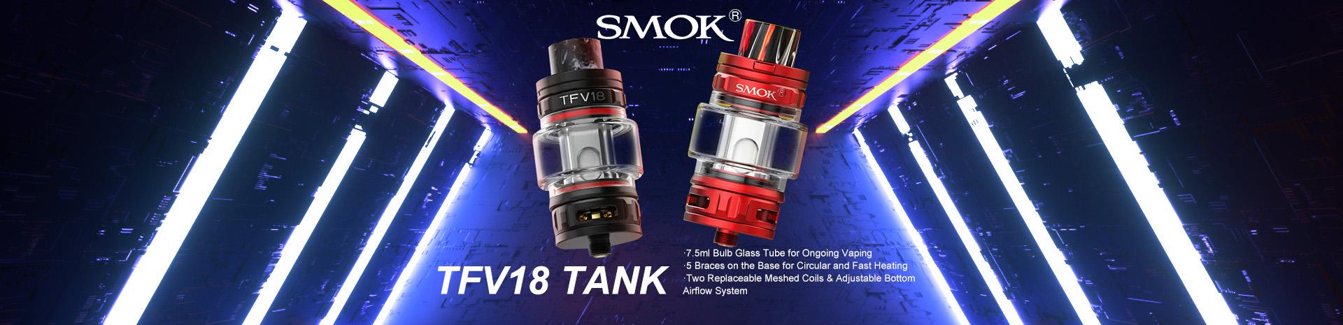 SMOK TFV18 Tank Banner