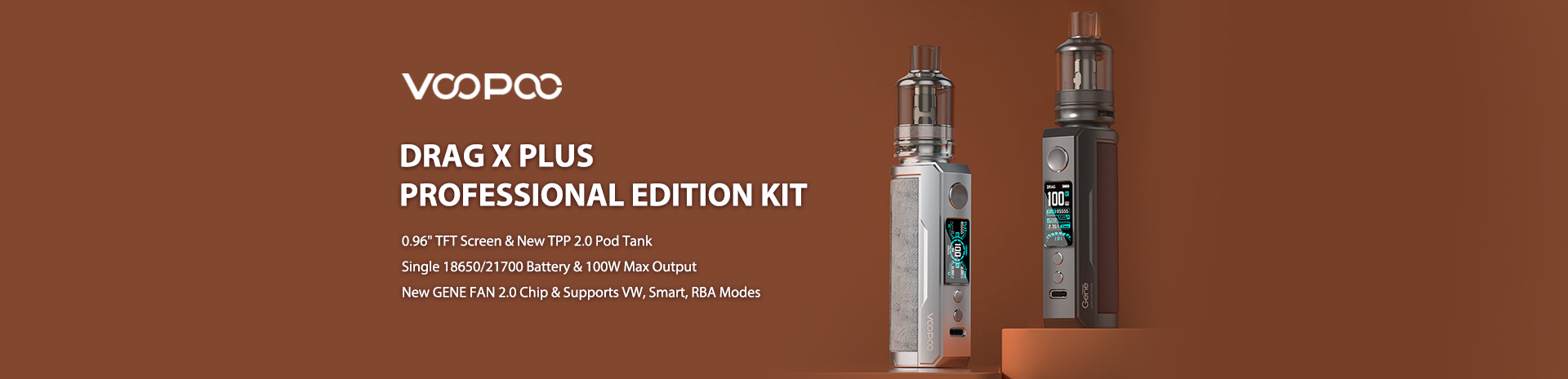 Sourcemore VOOPOO Drag X Plus Professional Edition Giveaway Banner