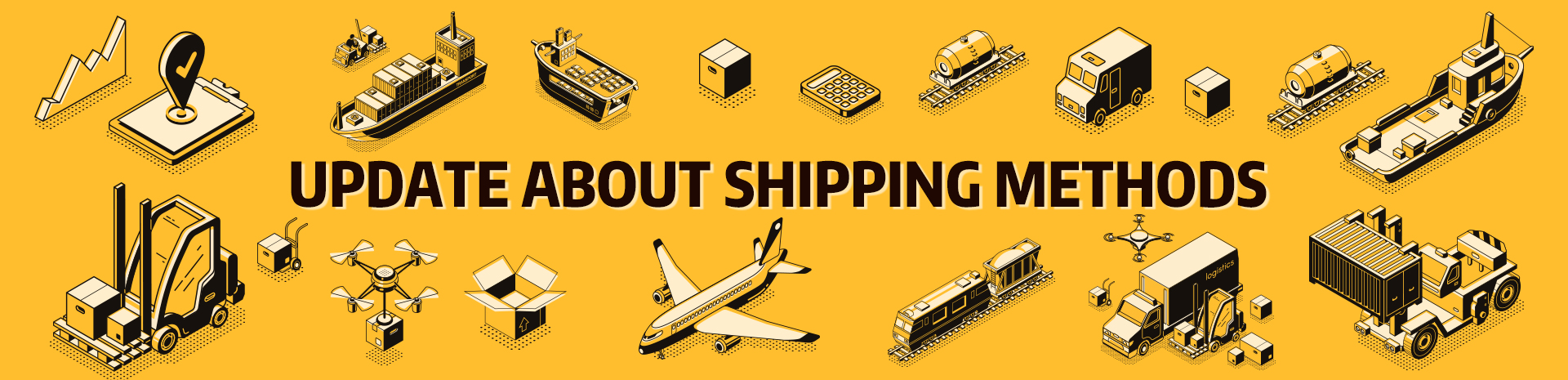 Update About Shipping Methods Banner