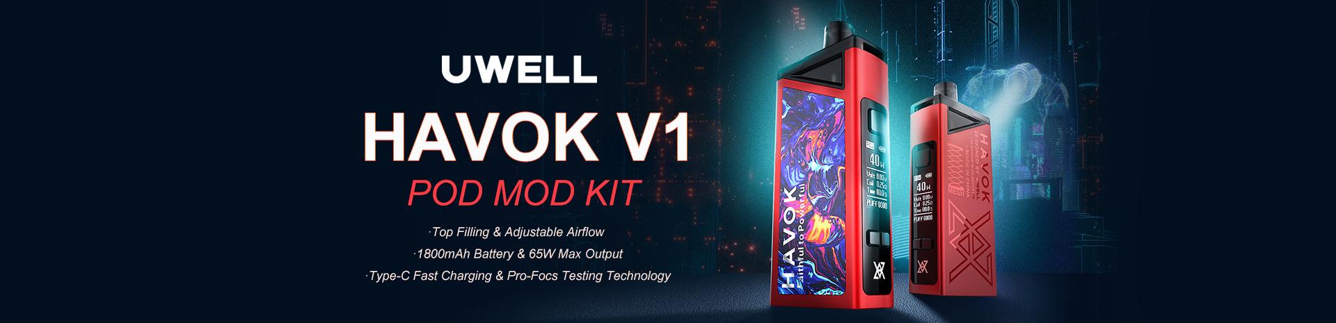 Uwell Havok V1 Pod Mod Kit Banner