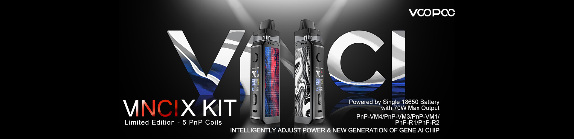 VOOPOO VINCI X Kit Limited Edition Banner