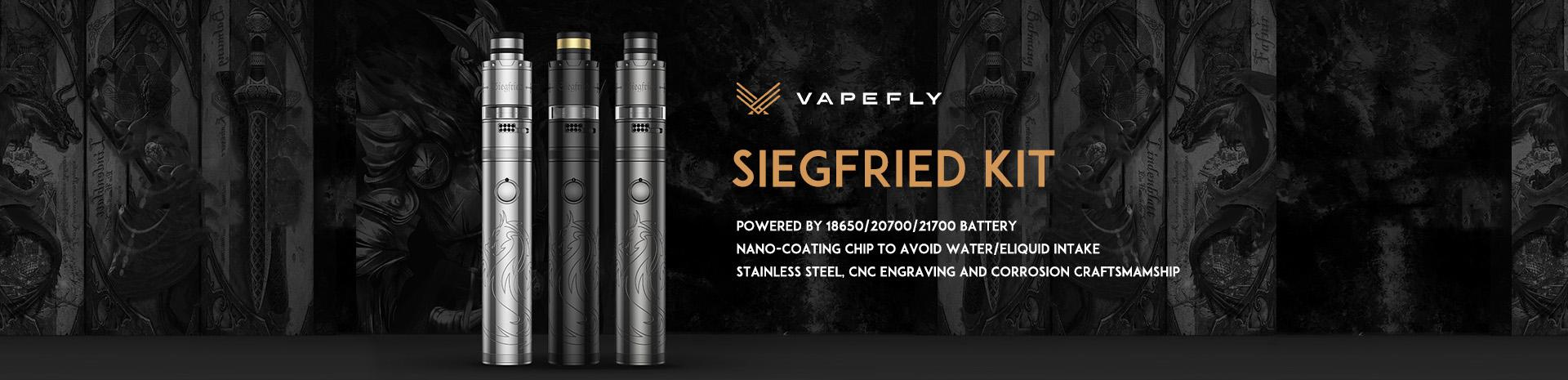 Vapefly Siegfried Kit Banner