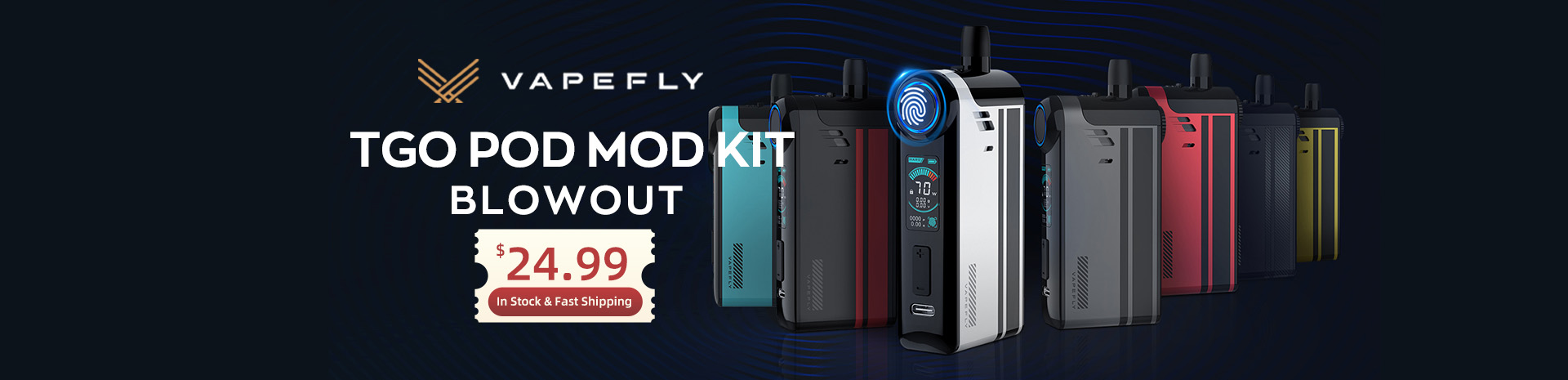 Vapefly TGO Pod Mod Kit Blowout