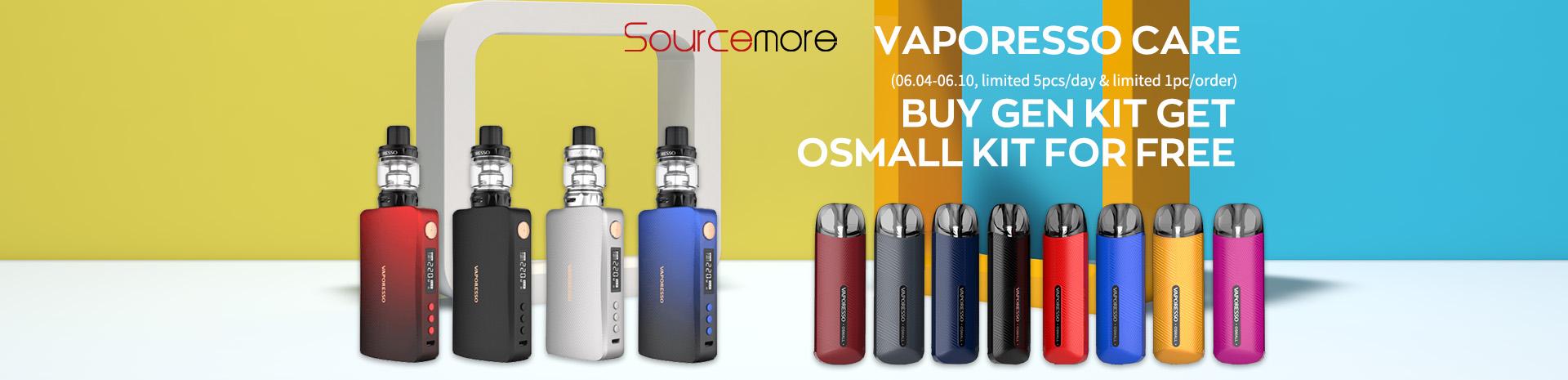 Vaporesso Care Buy GEN Kit Get OSMALL kit for Free