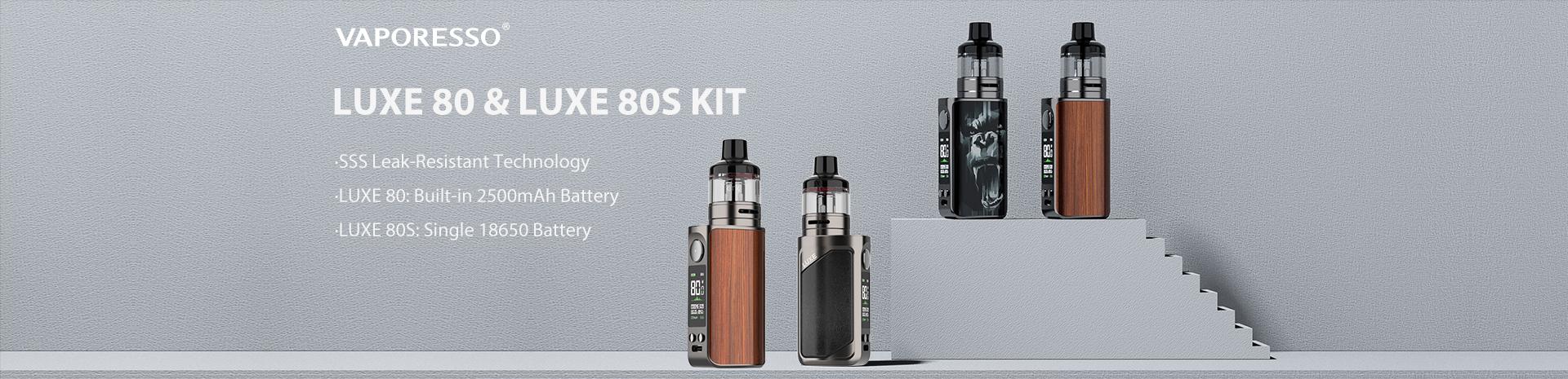 Vaporesso LUXE 80-80s Kit Banner