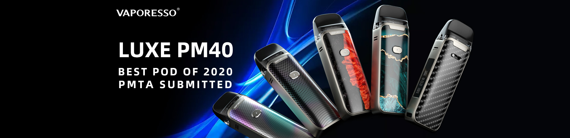 Vaporesso Luxe PM40 Kit Banner