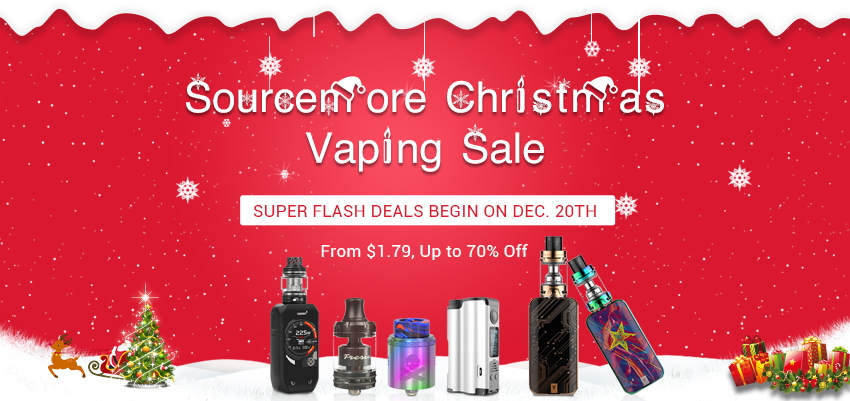 Sourcemore Christmas Vaping Sale