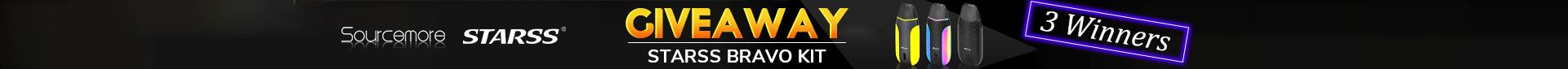 Starss Bravo Pod Kit Giveaway