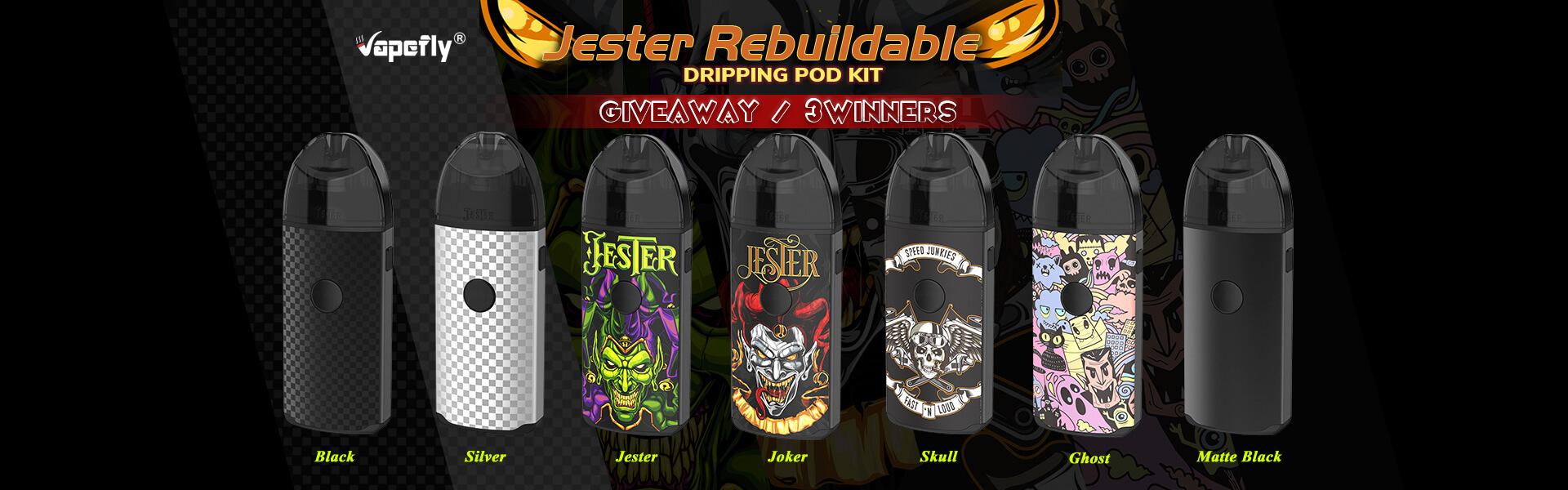Vapefly-Jester-Rebuildable-Dripping-Pod-Kit